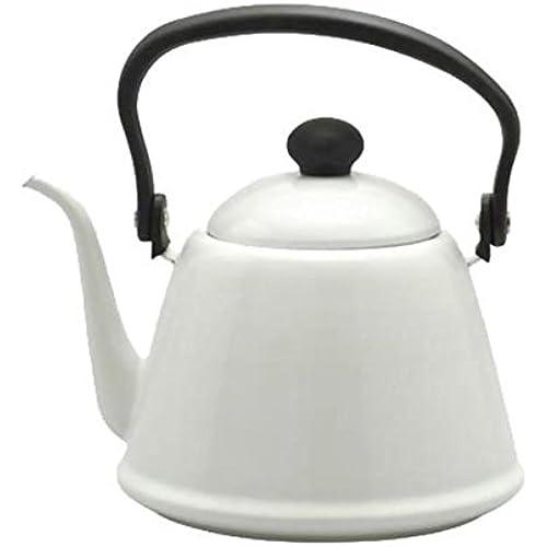 노다호로(Nodahoro) 노다법랑 법랑 드립백 커피 주전자II 화이트 DK-200 / 카멜 DK-200