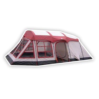 Tahoe Gear Glacier 14 Person 3-Season Family Cabin Tent, Outdoor Stuffs