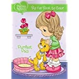 Precious Moments Big Fun Book to Color ~ Purrfect Pals by Dalmatian Press