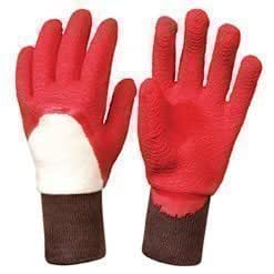 Essential latex rose gardening gloves red size 7 amazon for Gardening gloves amazon