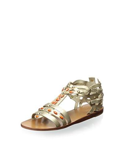 Geox Women's Harper Sandal  [Platinum]