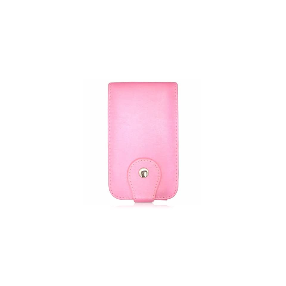 PINK Premium Leather Flip Cover Melrose Case for Apple iPhone by VanMobileGear