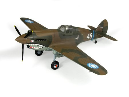 P-40 Airplane in 1:32 Scale