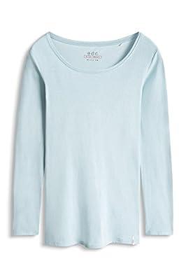 edc by Esprit Women's 076cc1k046 Long Sleeve Top