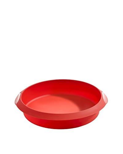 Lekue Round Cake Mold, Red