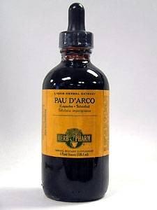 Herb Pharm Pau D' Arco Extract Supplement, 4 Ounce