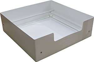 """Petnap Plastic Re-useable dog puppy whelping box (36"""" x 36"""" x 12"""" White)"""