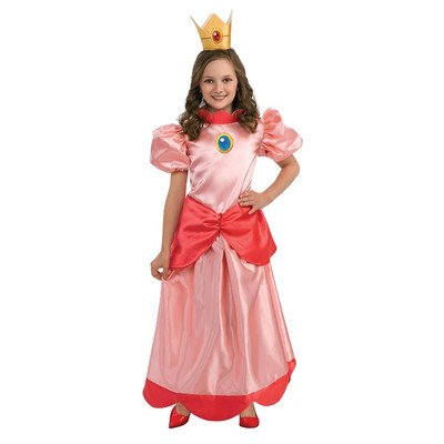 Rubies Super Mario Princess Peach Costume