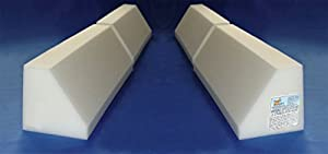"Magic Bumpers Portable Child Bed Safety Guard Rail (two-part) 48 Inch - Set of TWO Bedrails (24"" x 4)"