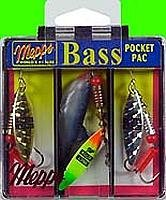 Mepps Aglia Long Plain Bass Fishing Lure Pocket Pack from Mepps