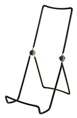 Gibson Holders 6AC 3-Wire Display Stand with Deep Edge, Black, 12-Pack (Book Display Stand Wire compare prices)