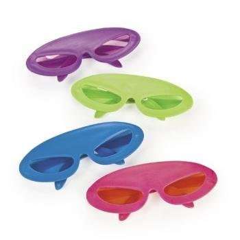 Fun Express Plastic Superhero Sunglasses (1 Dozen)