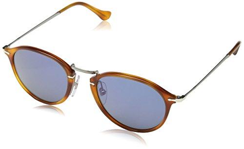 persol-po3046s-lunettes-de-soleil-mixte-mehrfarbig-gestell-havana-glaser-orange-verlauf-klar-verspie