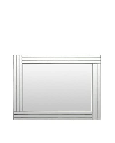 Surya Glass Lined Mirror, Clear