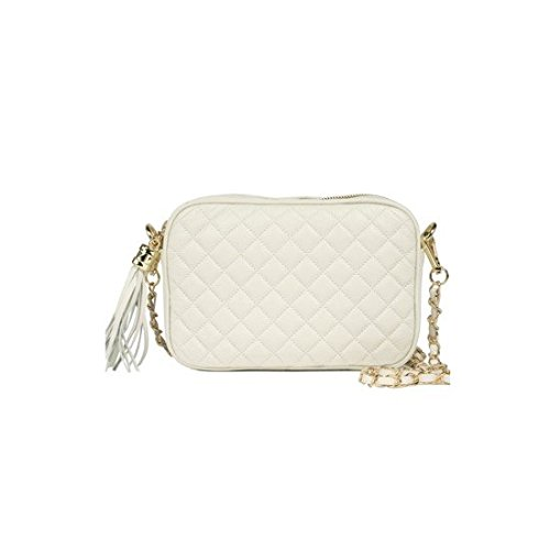 dearwyw-women-genuine-cow-leather-mini-waffle-quilted-square-cross-body-shoulder-bag-ivory