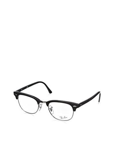 Ray-Ban Clubmaster Square Eyeglasses, Shiny Black