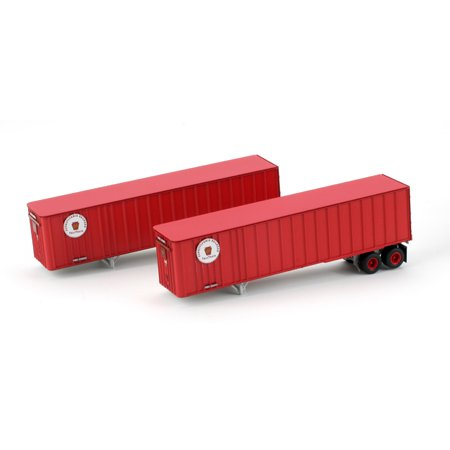 HO RTR 40' Exterior Post Trailer, PRR #2 (2) - Buy HO RTR 40' Exterior Post Trailer, PRR #2 (2) - Purchase HO RTR 40' Exterior Post Trailer, PRR #2 (2) (Athearn, Toys & Games,Categories,Play Vehicles,Trains & Railway Sets)