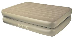 Queen Size Raised Blow Up Mattress Bed