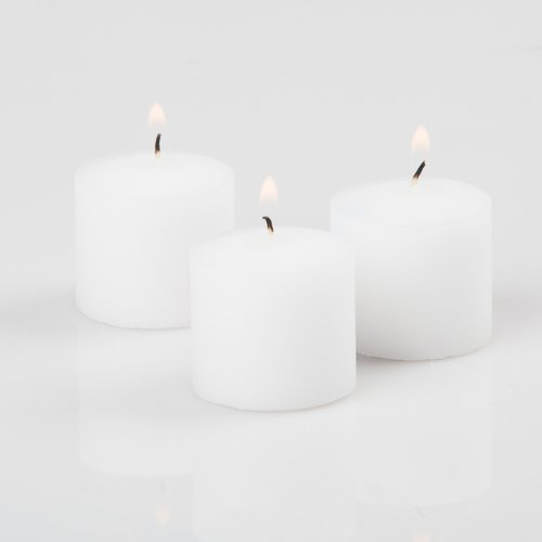 Richland® Votive Candles White Unscented 10 Hour Burn Set of 72