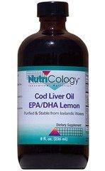 Nutricology Cod Liver Oil Epa/Dha Lemon -- 8 Fl Oz