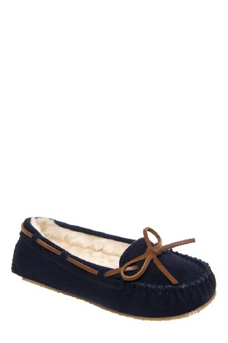 Minnetonka Cally Slipper Moccasin Flat Shoe