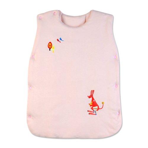 Dele Baby Sleeping Bag / Vest Bag / Newborn Sleeping Bags Bamboo Fiber Pure Cotton Baby Sleeping Bag (Pink) front-872981