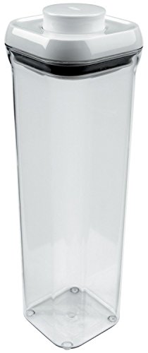 OXO Good Grips POP Square 2.1 Quart Storage Container (Set of 4) (Oxo Pop Spaghetti compare prices)