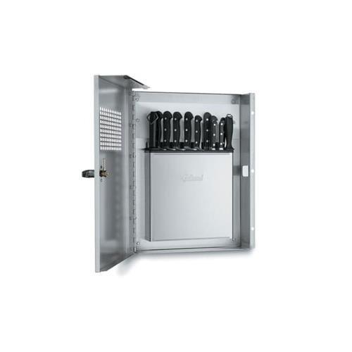 Edlund Klc994 Kr-99 Locking Knife Cabinet With Kr-699 Knife Rack
