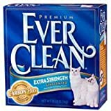 Ever Clean Extra Strength Cat Litter, Unscented, 42 Pound Box