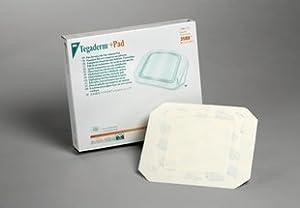 "3M 3582 - Tegaderm 2"" x 2.75"" + Pad Film Dressing, 1"" x 1.5"" Non-Adherent Pad, 50/bx, 4bx/cs"