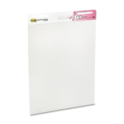 3M Easel Pad, Super Sticky, 30 Sheets/Pd, White