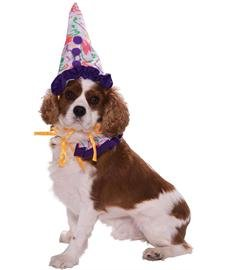Forum Novelties 64041 Pet Clown Costume Small  For Dogs & Cats Picture