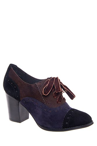 Tustin Oxford Mid Heel Shoe