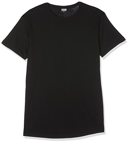 Urban Classics Shaped Long Tee, T-Shirt Uomo, Nero (Black 7), XX-Large