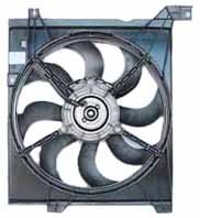TYC 600890 Kia Spectra Replacement Radiator Cooling Fan Assembly from TYC