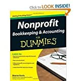 img - for Nonprofit Bookkeeping & Accounting For Dummies 1st (first) edition book / textbook / text book