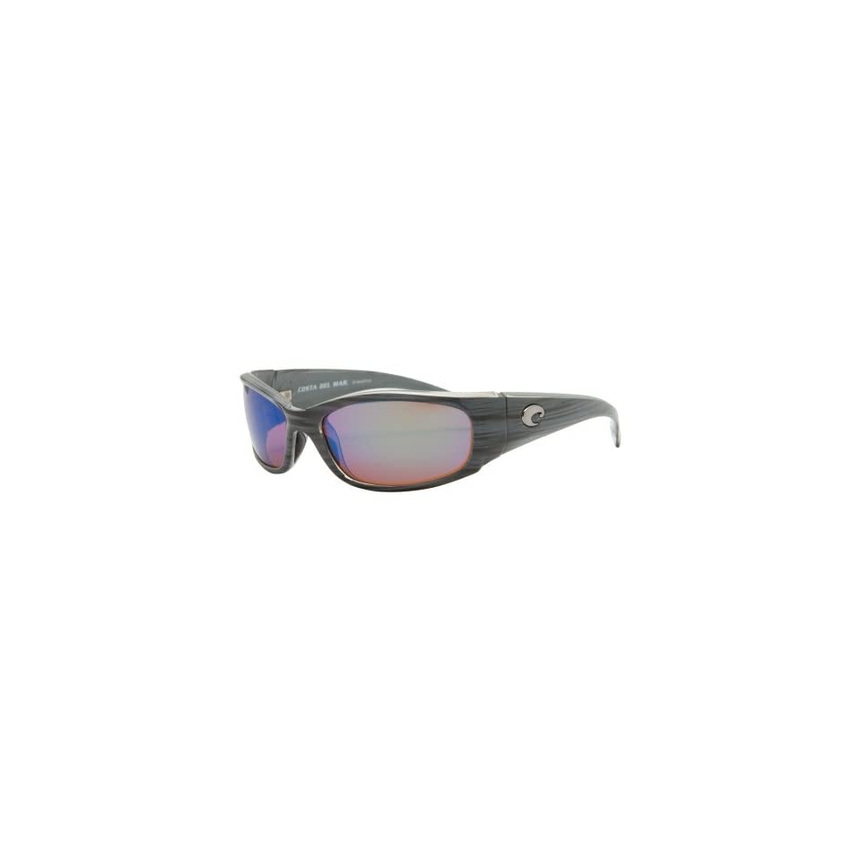 53c4d014b Costa Del Mar HH28OGMGLP Hammerhead Silver Teak Frame Green 580G Polarized  Lens Sunglasses NEW