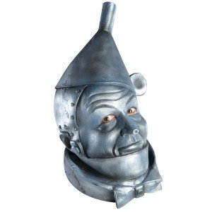 Rubie's Costume Co - The Wizard of Oz Tin Man Deluxe Mask Adult - One-Size