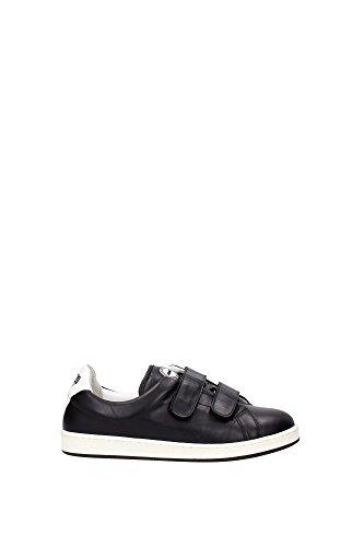 Sneakers Kenzo Donna Pelle Nero e Bianco L502SN11399K62 Nero 37EU
