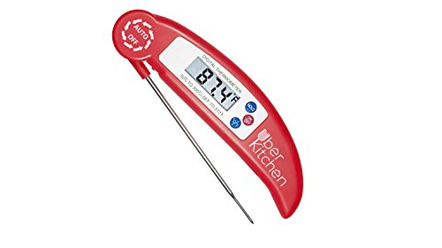 Digital Instant Read Food Meat Thermometer for Cooking Grilling Barbecue Candy Baking Baby Formula Temperature Check - Food BBQ &
