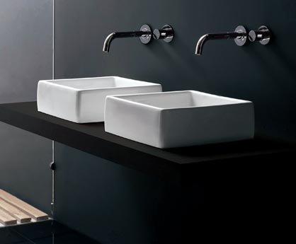 Buy OXO Porcelain Sink, Italian Design, New #1018 (Ella's Sinks, Plumbing, Sinks, Bathroom, Vessel Sinks)
