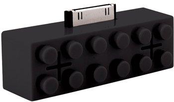 Ipod Building Block Portable Speaker Dock, Black