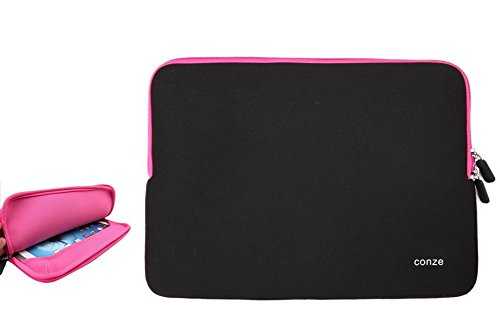 Click to buy Conze Water-resistant Neoprene Carrying Sleeve Case Compatible with GIGABYTE U2442T-CF2 in Pink - From only $12.88