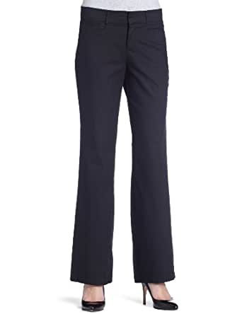 Dockers Women's Metro Trouser Pant, Black,4