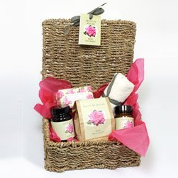 Fruits of Nature Rose Basket-Luxury Rose Basket