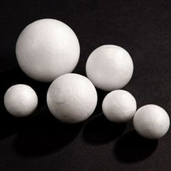 Polystyrene Craft Balls Packof 50 30mm