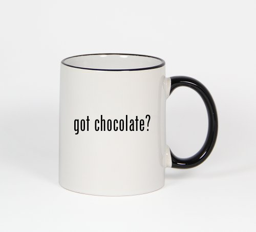 Got Chocolate? - 11Oz Black Handle Coffee Mug Cup