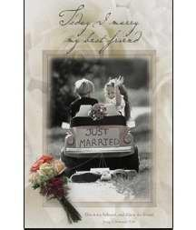 Today I marry my best friend (u6222) Wedding Programs (Pkg-100)