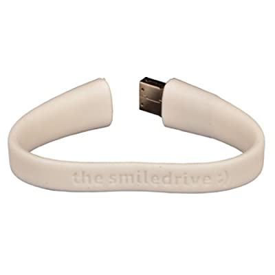 8GB FANCY DESIGNER WRISTBAND USB PENDRIVE (WHITE)