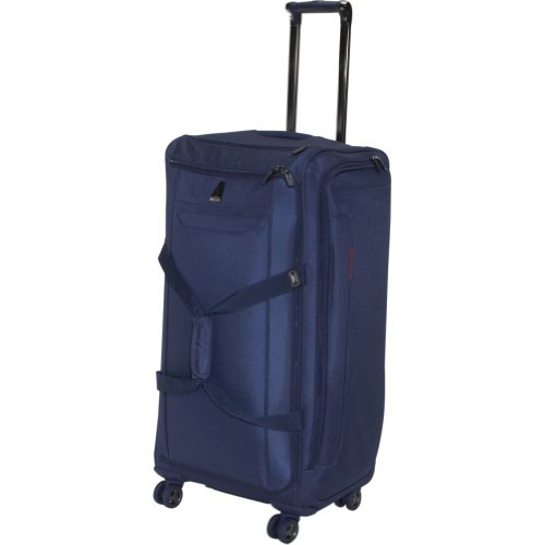 delsey luggage helium x pert lite ultra light 4 wheel spinner duffel blue 28 inch review. Black Bedroom Furniture Sets. Home Design Ideas